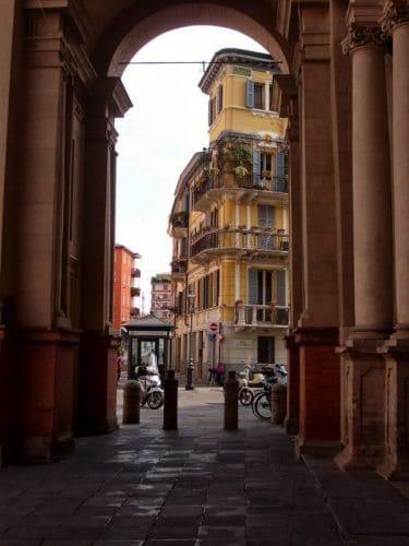 archway in Parma, Italy. Sabrina Sucato photos.