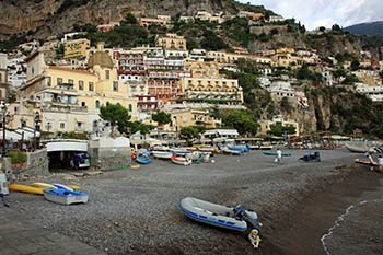Positano is lovely in the summer and still gorgeous in the fall and winter!