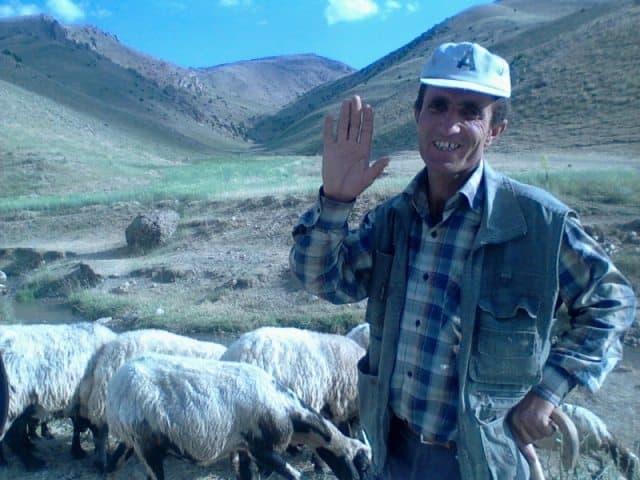 A Kurdish shepard.