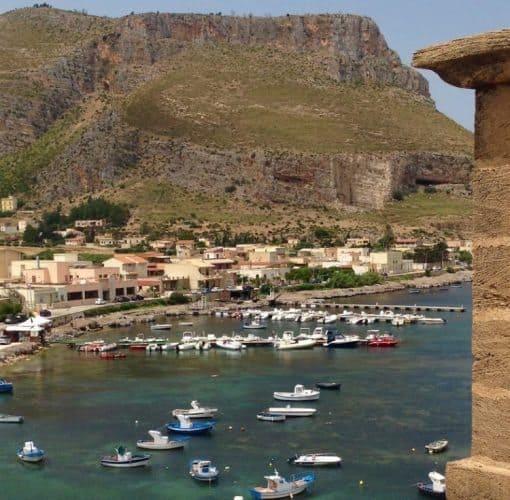 Tonnara Hotel in Bonagia, Sicily.