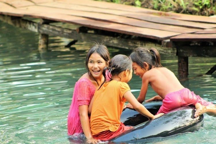Bo and My Vang Viang Laos