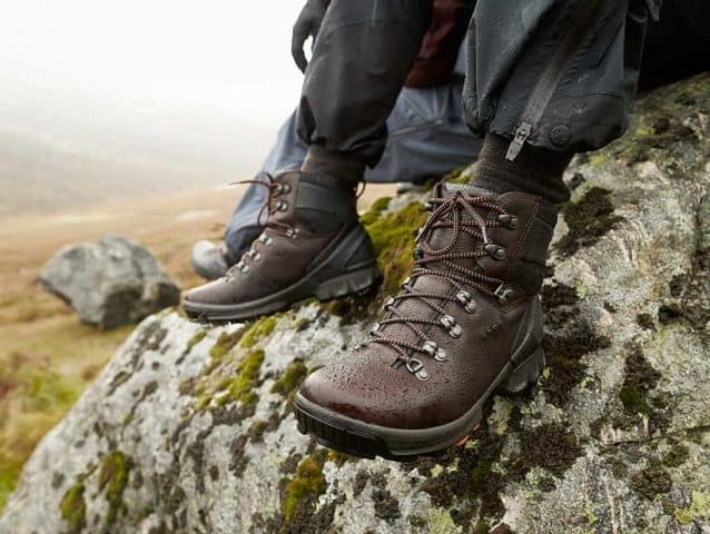 Ecco boots for your winter hikes. Read reviews of traveler clothing and footwear.
