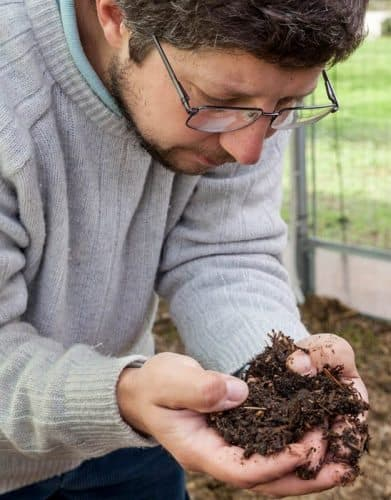 Marco Carbonara and his rich organic soil