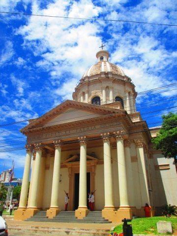 National Pantheon of Heroes in Paraguay's capital, Asunción.