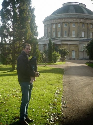 babywalk at Ickworth house