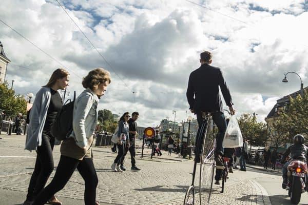 Biking in Gothenberg, Sweden. Andy Castillo photo.