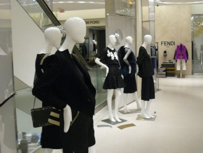 Mannaquins at Holt Renfrew