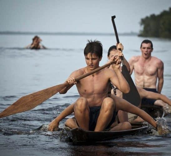 Rowing the Amazon.