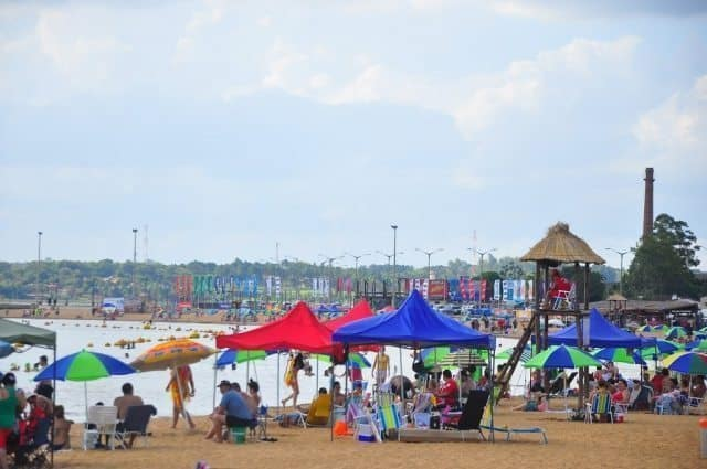 San Jose beach is the place to be after 3 pm in Encarnacion.