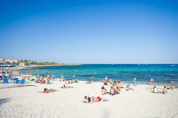 Punta Prima beach in Menorca. how to choose your travel destinations.