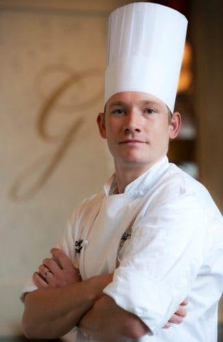 Chef David Moore of the Ballantyne Hotel in Charlotte, NC.