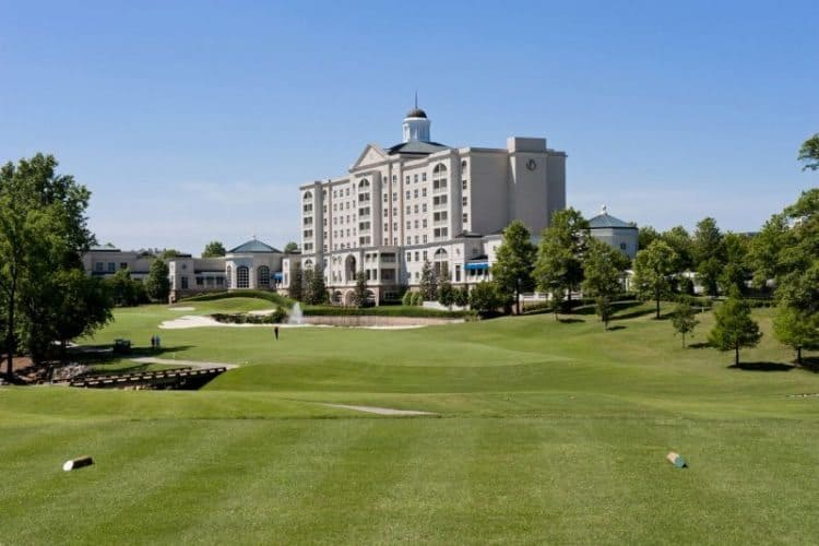 Ballantyne Hotel and Lodge in Charlotte, North Carolina.