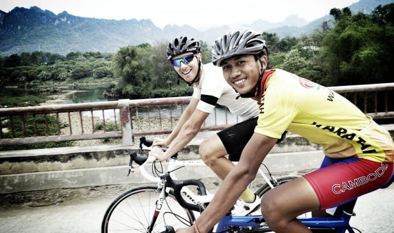 Cyclers in Vietnam