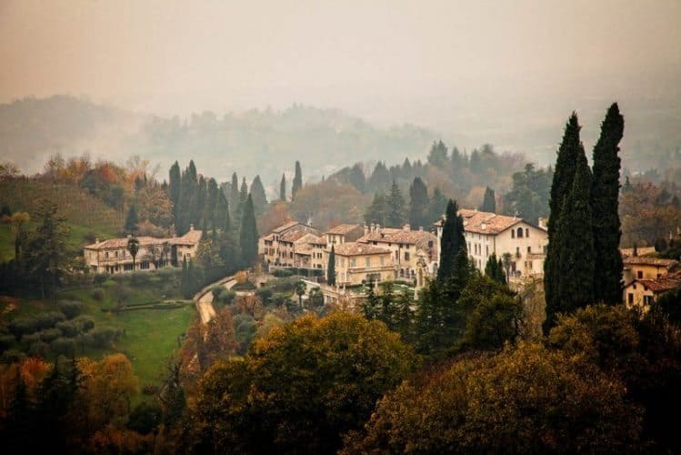 Asolo The city of 100 horizons.