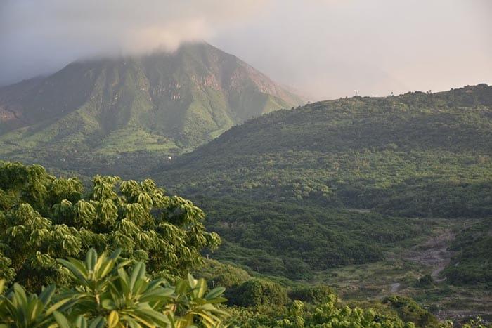 Active volcano on Montserrat, which last erupted in 1997. Cindy Bigras photos