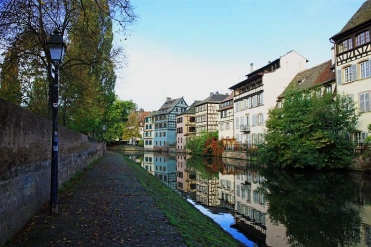 Alsace-Champagne-Ardenne-Lorraine region on France's eastern border in the Upper Rhine River Valley. Janis Turk photos.