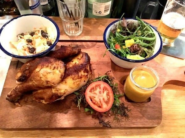 """A restaurant called """"Chicken and Beer,"""" proved the perfect choice for a solo diner in Rotterdam."""
