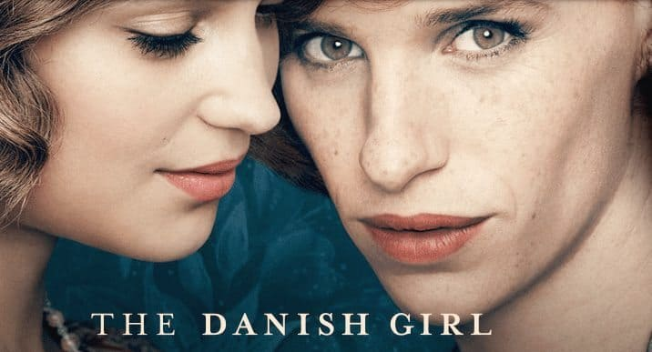Movie post for The Danish Girl.