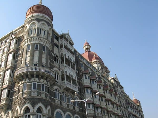 Taj Palace Hotel, a great place for tea in Mumbai.