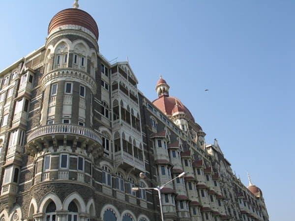 Taj Palace Hotel, a great place for tea in Mumbai.