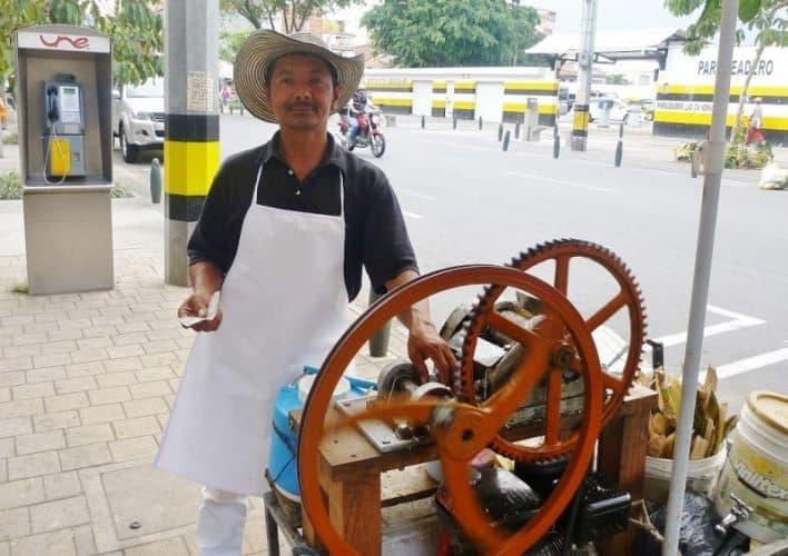 Guarapo Street Vendor