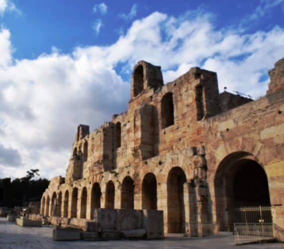 Herodian theater in Athens. Stav Dimitropoulos photos.