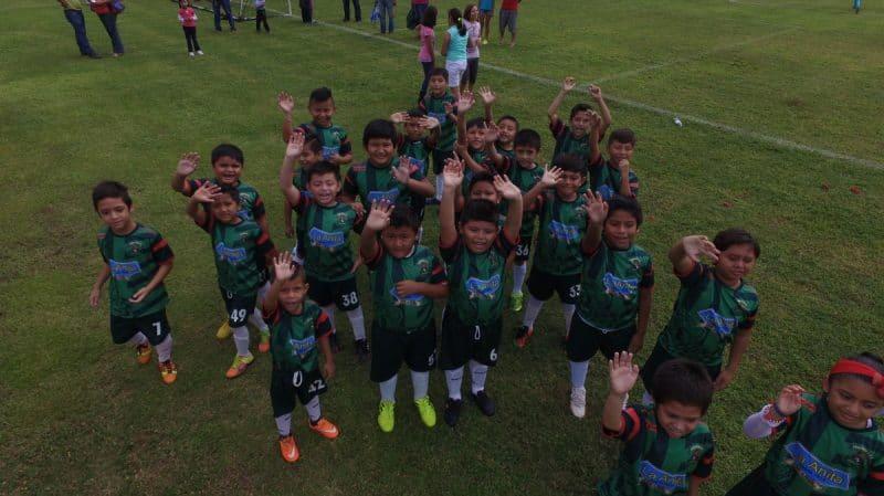 Kids of Jaguares Football Club Mexico by Jelipegomez