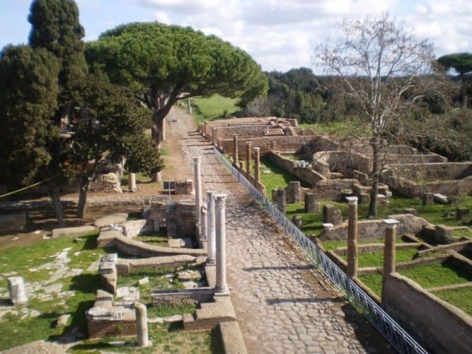 Ostia Antica ruins, located just outside of Rome. Alexandra Tunney photos.