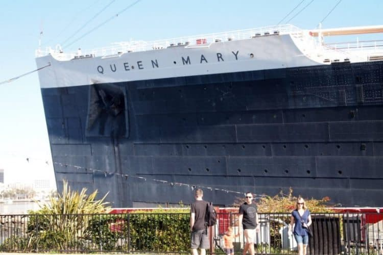 Queen mary up close