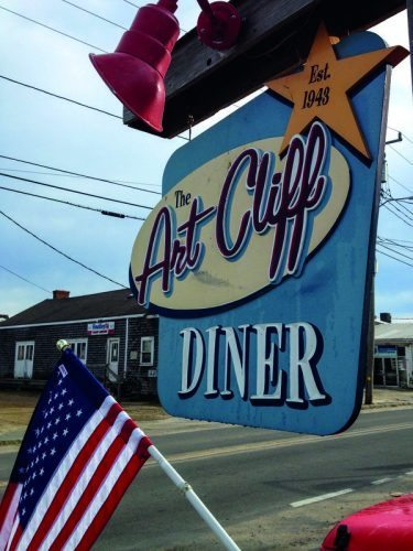 The Art Cliff Diner is a beloved breakfast and lunch spot in Vineyard Haven, MA.