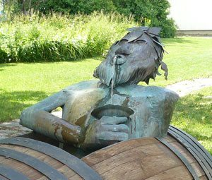 The Ile d'Orleans was originally named the Isle of Bacchus because of the wild grapes that grow there.