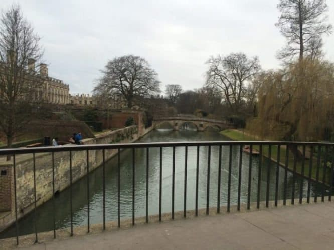 Walk through to the back of King's College, over the bridge (stop here for a gorgeous shot of the Cam) and through to the green lawns outside the college