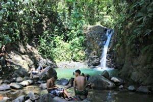 Costa Rica Waterfall