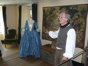 At the Manoir Mauvide-Genest, we learned about the early history of Quebec.