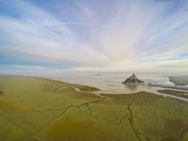 Mont Saint Michel in Normandy, France by Jeremie Eloy
