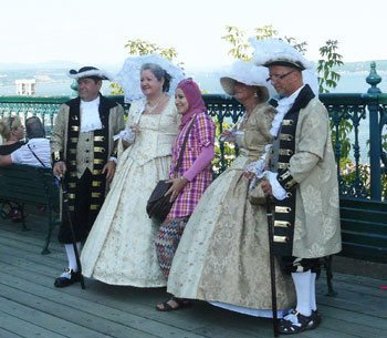 Millions of people from all over the world visit Quebec every year.