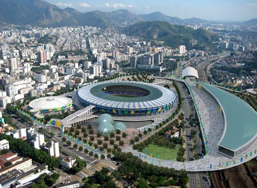 A rendering of Maracana stadium in Rio, one of the many venues for the 2016 Summer Olympics. This story details how to stay safe at these games.