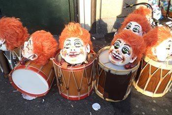 Switzerland: The Basler Fasnacht Carnival in Basle