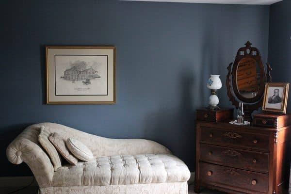 Talbotts guest bedroom