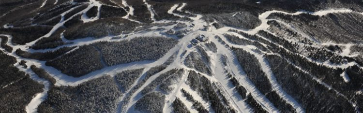 More than 95 trails, 14 lifts including a gondola serve skiers at Mont Tremblant.