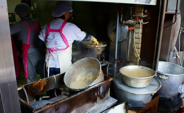 Halmeoni, where the art of noodle making is taken very seriously.