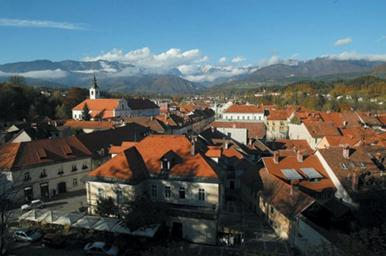 Ljubljana's rooftops. This story is about what's new for travelers in Slovenia and details its many natural parks and attractions.