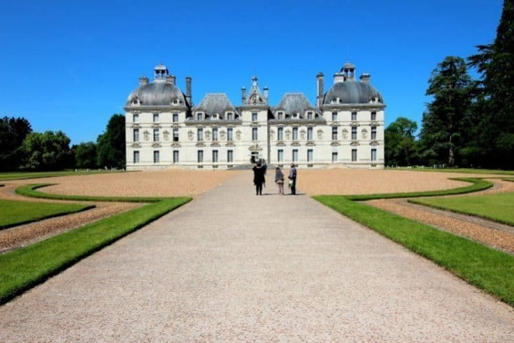 Chateau Cheverny, in the Loire Valley. Christopher Ludgate photos.