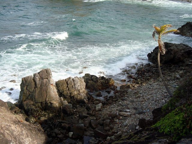 Galera Point seascape, Toco.