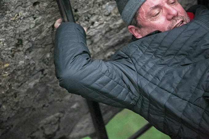 Kissing the Blarney Stone is not for the faint of heart. However, its promise of the gift of gab might bring you some solace as you're hanging – head first – six stories high.
