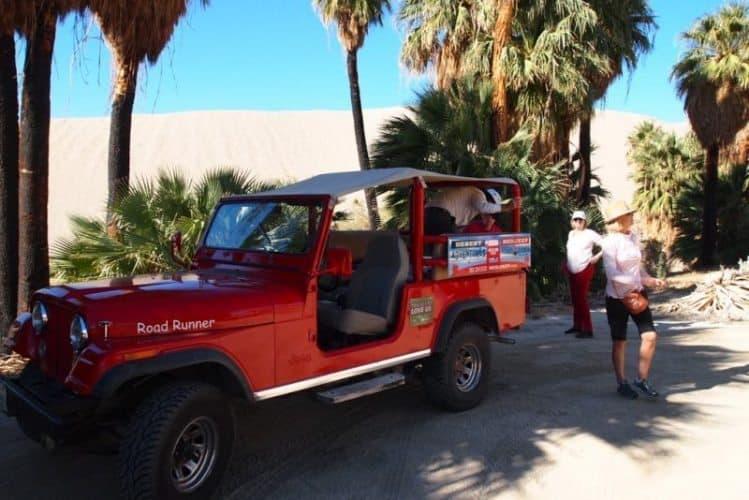 Jeep CJ 8, the perfect desert exploring vehicle.
