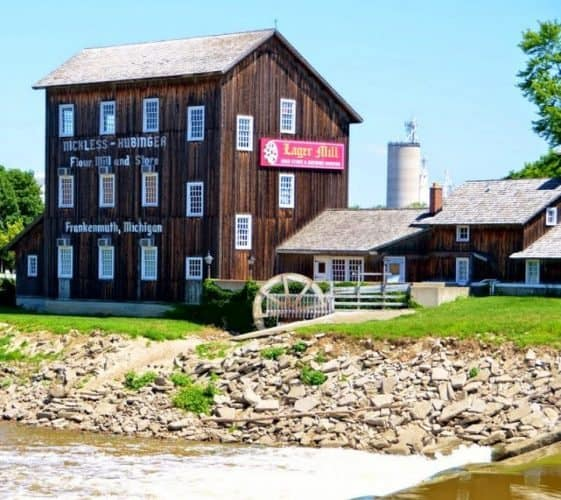 Frankenmuth's Lager Mill, where German beer is brewed.