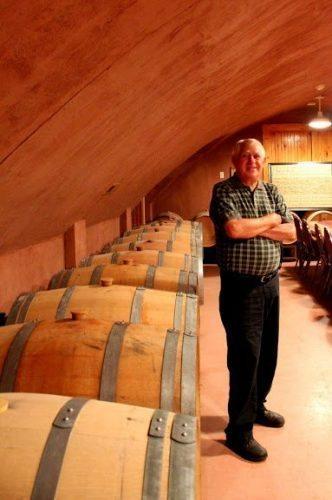 Pete Pizzadili of Pizzadili Winery, in Fenton, Delaware.