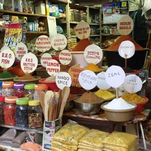 Spices at the VictorianMkt Durban