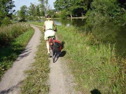 The Gøta Canal bikeway